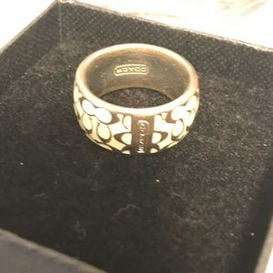 Coach ring, (size 6-guesstimate)